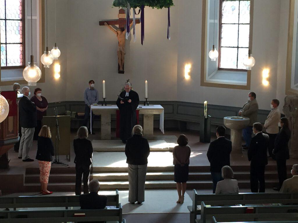 KV-Einführung im Gottesdienst