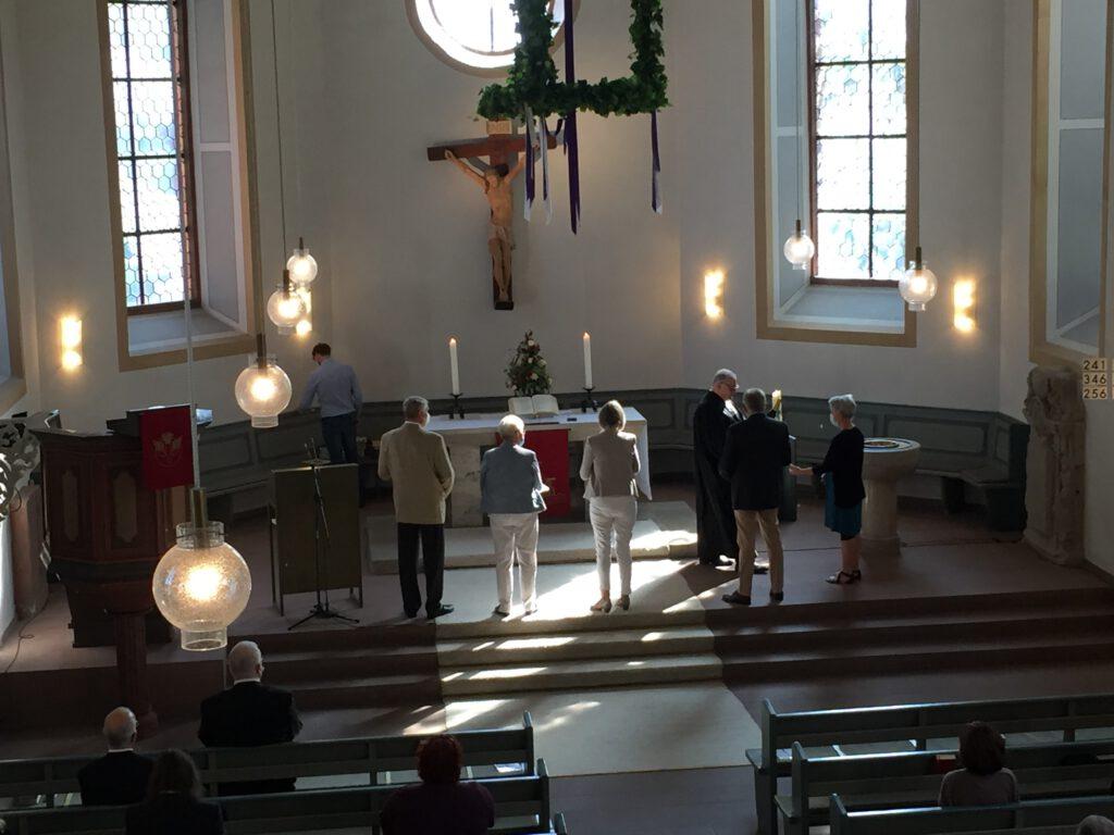 KV-Verabschiedung im Gottesdienst